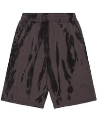 A_COLD_WALL* * Overdyed Artisan Shorts - Black