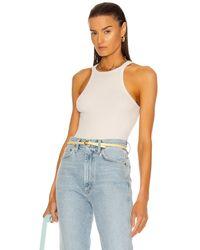 Agolde Rianne Bodysuit - White