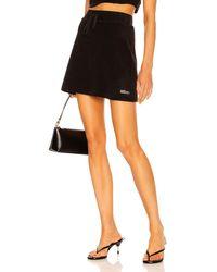 Miaou Tennis Skirt - Black