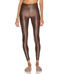 Koral Lustrous High Rise Infinity legging - Brown
