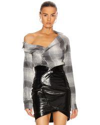 RTA Lizbeth Shirt - Grey