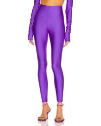 ANDAMANE Holly 80's Legging - Purple