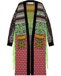 Off-White c/o Virgil Abloh Persian Fantasy Kimono - Green