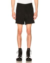 Ann Demeulemeester Shorts - Black