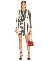 Michelle Mason - Belted Dress Jacket - Lyst