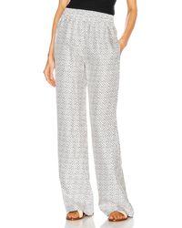 Burberry Monogram Pajama Pant - White