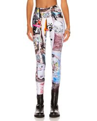 R13 Patch Pocket legging - Multicolour
