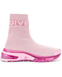 Givenchy Giv 1 Sock Sneakers - Pink