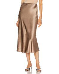 SABLYN Miranda Midi Skirt - Brown