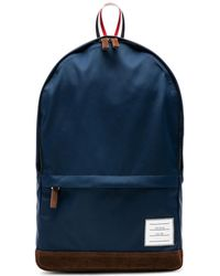 Thom Browne Nylon Tech Unstructured Backpack - Blue