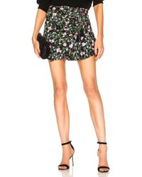 Veronica Beard - Violet Skirt In Painted Floral - Lyst