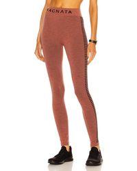 Nagnata Laya Houndstooth Legging - Mehrfarbig
