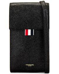 Thom Browne Phone Holder - Black