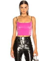 Alexander Wang - Fitted Cami Top - Lyst