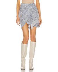 Isabel Marant Ixori Skirt - Blue