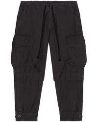 Greg Lauren Baker Essential Cargo Pants - Schwarz