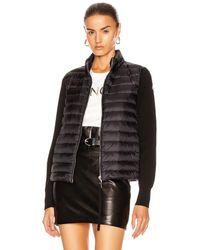 Moncler Cardigan Tricot Jacket - Black