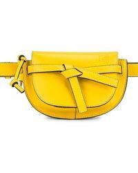 Loewe Gate Bumbag - Yellow