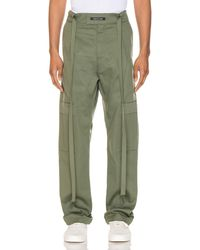 Fear Of God Baggy Cargo Trouser - Green