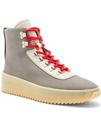 Fear Of God - Nubuck Leather Hiking Trainers - Lyst
