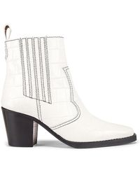 7c27b6465a4 Western Boot - White