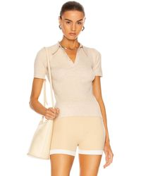 JoosTricot Polo Top - Natur