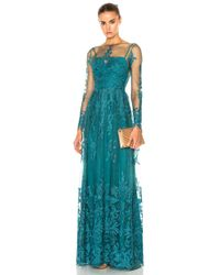 Zuhair Murad - Embroidered Tulle Dress - Lyst