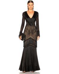 Zuhair Murad - Fringed Knit Gown - Lyst