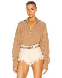 Marissa Webb - Wesley Boyfriend Fit Zip Front Sweater - Lyst