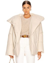 Totême Annecy Down Jacket - White
