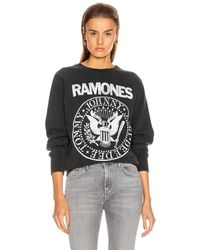 MadeWorn The Ramones Sweatshirt - Black