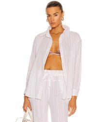 lemlem Kelali Men's Shirt - White