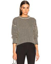 Raquel Allegra - Boxy Pullover Sweater - Lyst