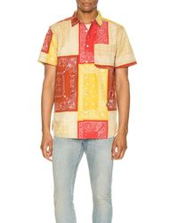 The North Face Short Sleeve Baytrail Pattern Shirt - Rot