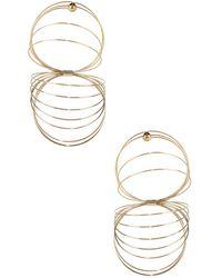 Y. Project - Gold-tone Slinky Earrings - Lyst