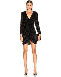 Smythe Ruched Dress - Black