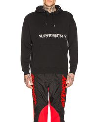 Givenchy - Fading Logo Hoodie - Lyst