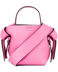 Acne Studios Micro Bucket Bag - Pink