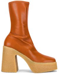 Stella McCartney Skyla Stretch Boots - Brown