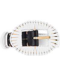 Altuzarra Wrapped Buckle Belt - White
