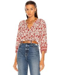 Natalie Martin Remy Top - Red