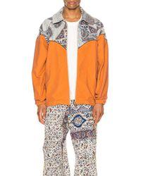 Paria Farzaneh Cowboy Jacket - Orange