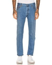 RE/DONE - Slim Straight Cropped - Lyst