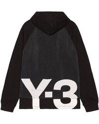 Y-3 Ch3 Jersey Gfx Hoodie - Black