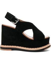 Flamingos - Suede Trendy Wedges - Lyst