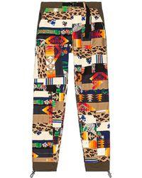 Sacai Hank Willis Thomas Archive Mix Print Pants - Multicolor
