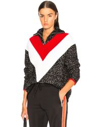 Givenchy - Textured Quarter Zip Sweater - Lyst