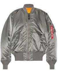 Alpha Industries MA-1 Flight Jacket - Grau