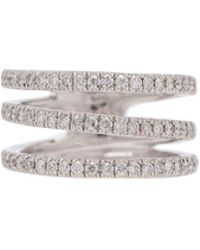 Loree Rodkin - Triple Pave Band Ring - Lyst