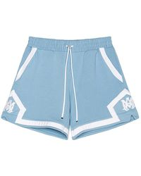 Amiri Terry Basketball Shorts - Blau